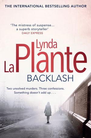 Backlash by Lynda La Plante book cover