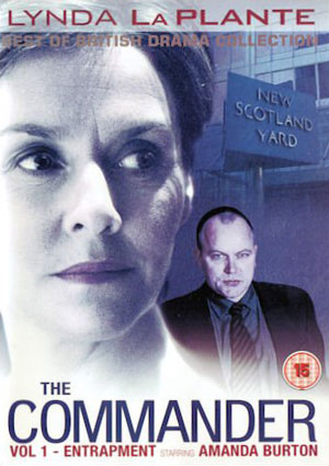The Commander: Entrapment DVD Cover