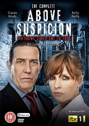 Above Suspicion Complete Series 1-4 DVD Cover