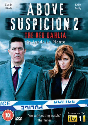Above Suspicion 2: Red Dahlia DVD box