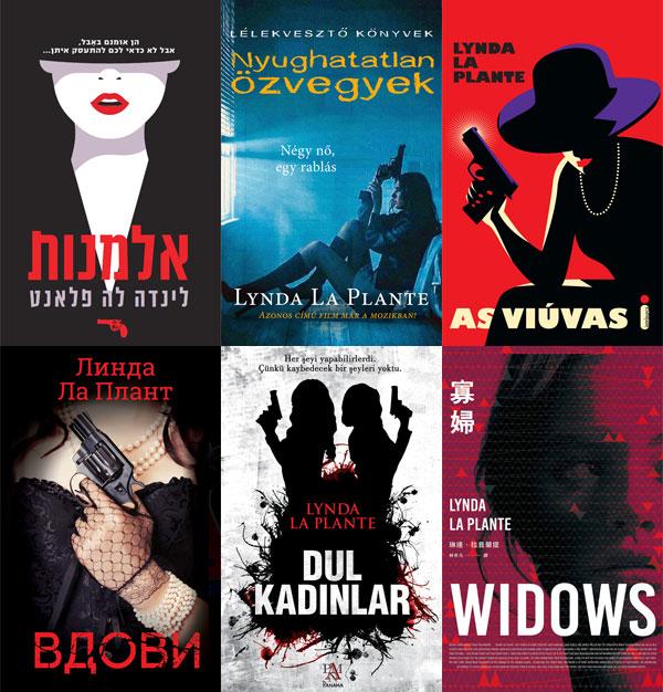 Widows international book covers