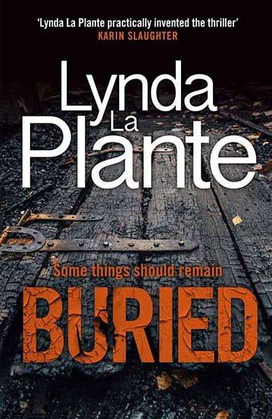 Buried by Lynda La Plante book cover