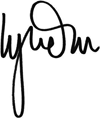 Lynda La Plante (signature)