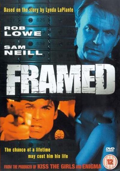 Framed DVD cover