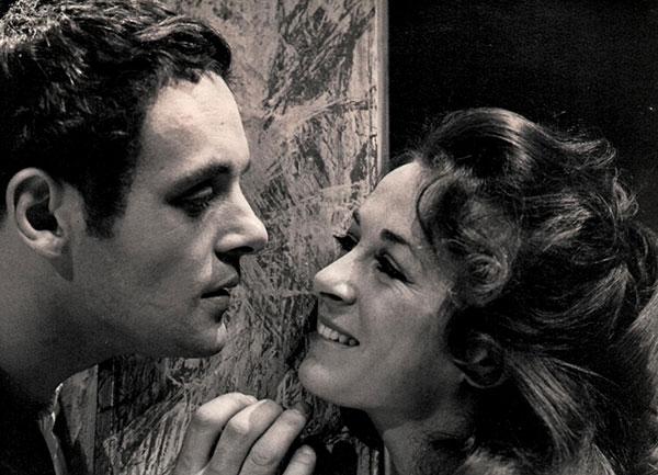 Anthony Hopkins and Lynda La Plante