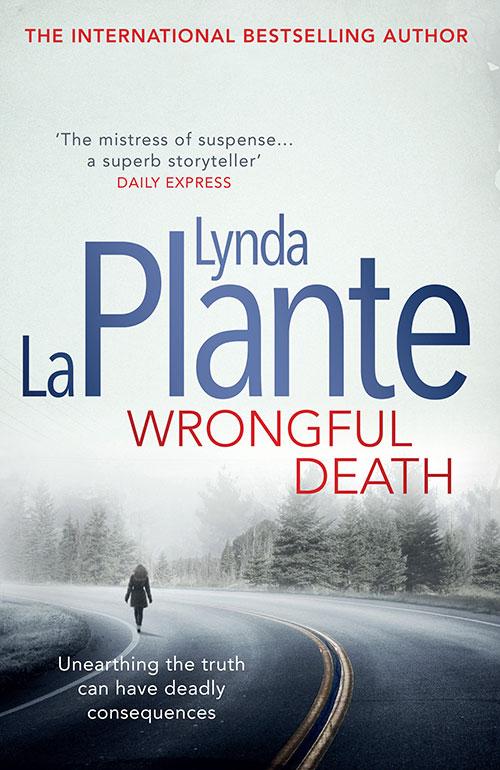 Wrongful Death by Lynda La Plante book cover
