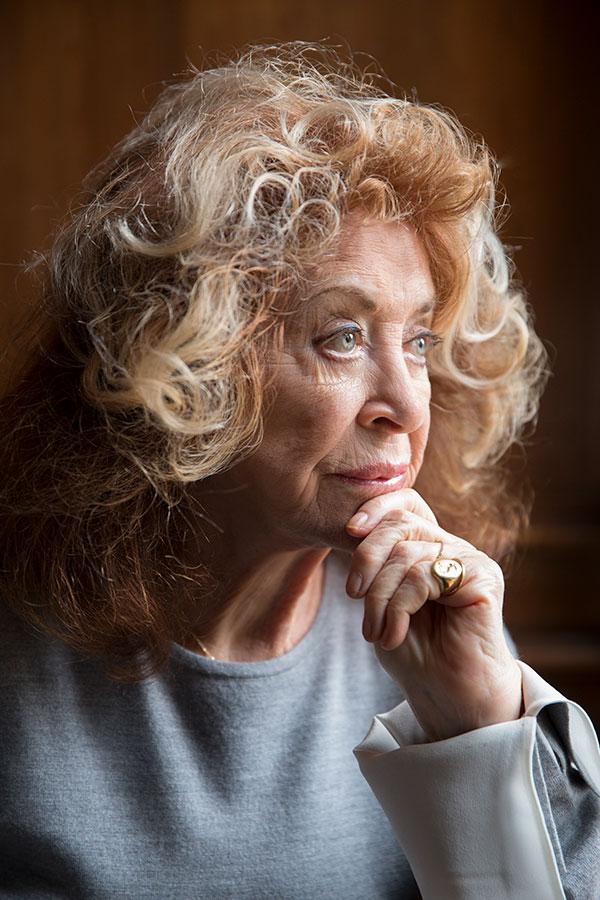 Portrait of Lynda La Plante