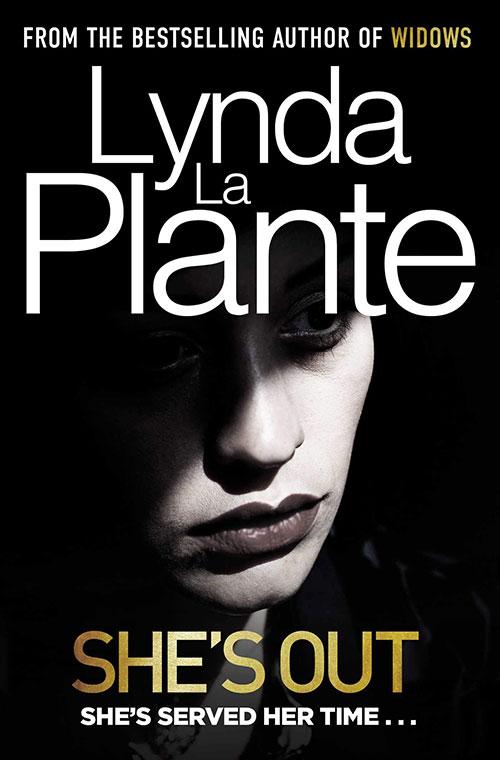 She's Out by Lynda La Plante book cover
