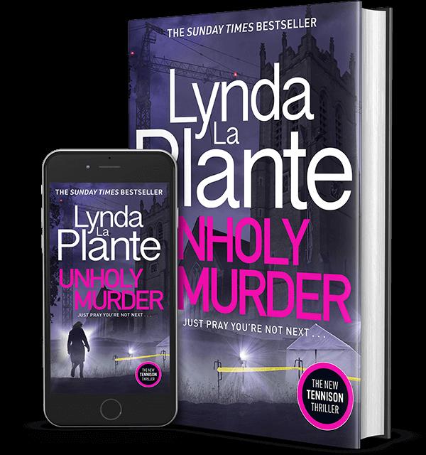 Unholy Murder pack shot - hardback and eBook