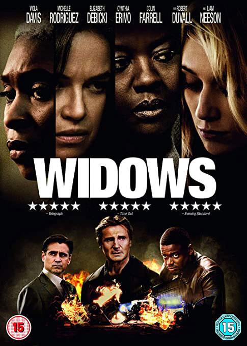 Widows 2018 DVD cover
